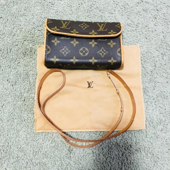 bdb549f4a7c7 Louis Vuitton Handbags - Authentic LV Pochette Belt Bag XS Made in france